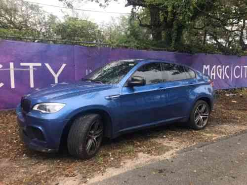 bmw x6 2011 bmw x6 m package in a beautiful blue one owner cars for sale. Black Bedroom Furniture Sets. Home Design Ideas