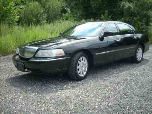 Lincoln Town Car Signature Limited 2011 Excellent Running One Owner Cars For Sale
