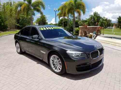 Bmw 7 Series Base Sedan 4 Door 2012 Bmw 750i Xdrive One