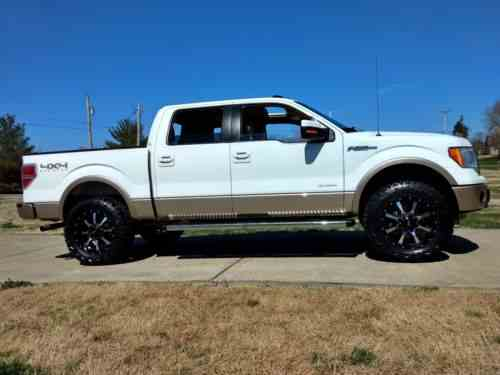Lifted Ford F150 >> Ford F 150 Lariat 2013