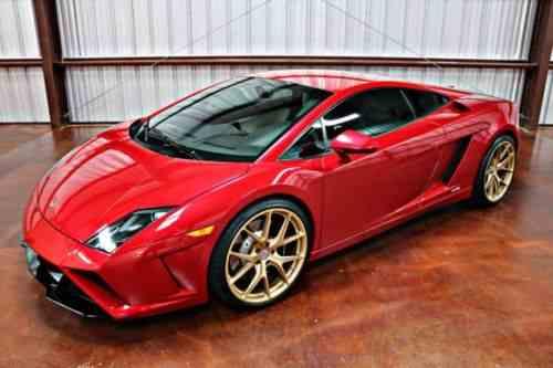 Lamborghini Gallardo Lp560 4 Coupe 2 Door 2013 This One Owner