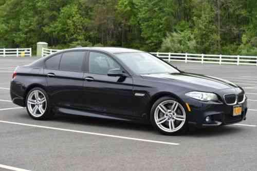 BMW 5 Series 535d M Sport Package Premium 2014