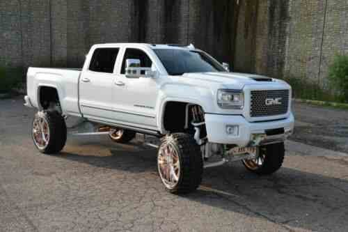 gmc sierra 2500 lifted 2015