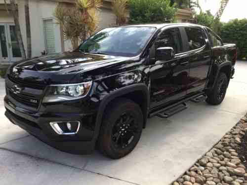 Chevrolet Colorado Crew Cab Lb 2016 Up For Sale Is A Chevy One Owner Cars For Sale