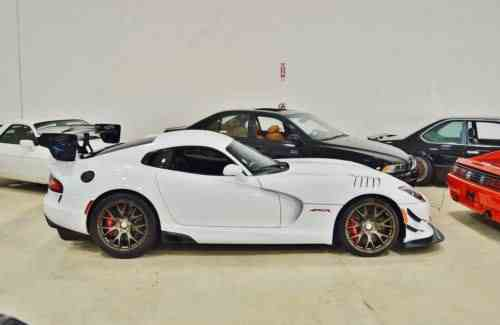 dodge viper acr extreme mint condition 2016 one owner cars for sale. Black Bedroom Furniture Sets. Home Design Ideas