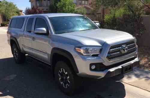 Toyota Tacoma Trd Off Road Extended Cab Pickup 4 Door 2016