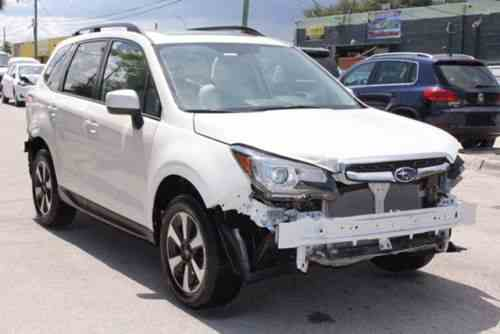 subaru forester 2017 up for auction is a subaru one owner cars for sale. Black Bedroom Furniture Sets. Home Design Ideas