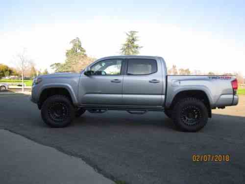 Toyota Tacoma Trd Off Road 4x4 Sport Lifted 2017 | By: One ...