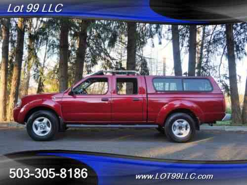 Nissan Frontier Sve V6 4dr Crew Cab 4x4 Matching Canopy Tacoma One